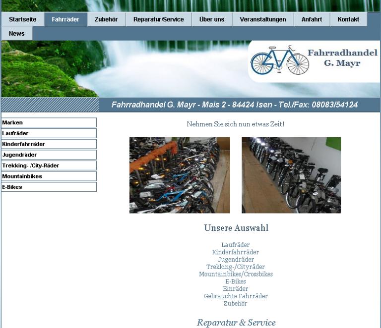Fahrrad-Mayr-Isen-Mais