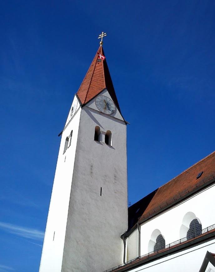 Sehenswürdigkeiten Isen – St. Zeno Kirche