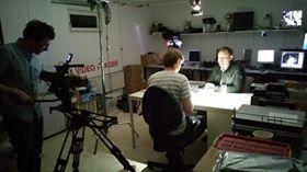 Dreharbeiten für Galileo TV in Isen