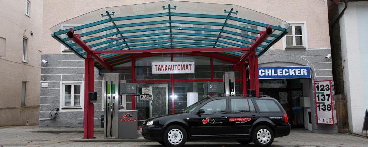 Anzenberger-Tankstelle Isen