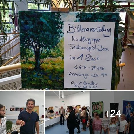 Farbenspiel-Vernissage