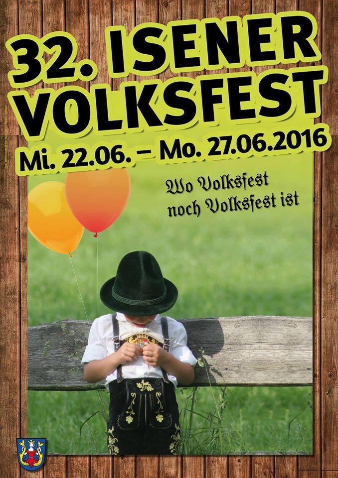 Volksfest 2016 Isen