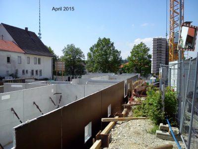 Bildergalerie: Abriss und Neubau auf dem Areal des ehemaligen Gasthof Mooshofer