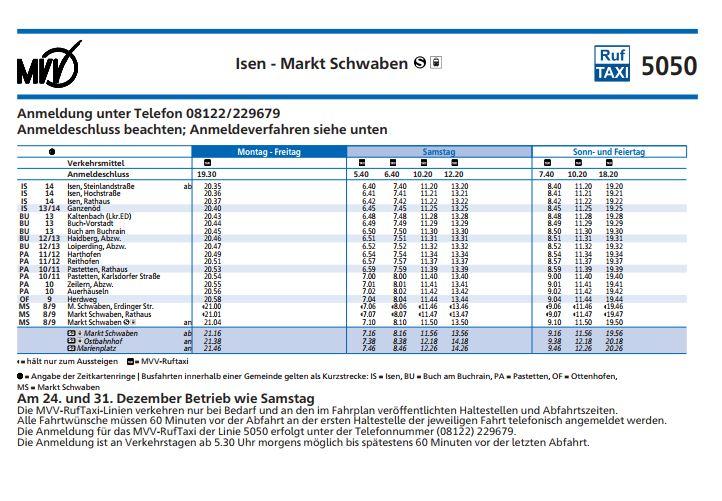 Bus-5050-Ruftaxi-Wochenende-Isen-Markt-Schwaben