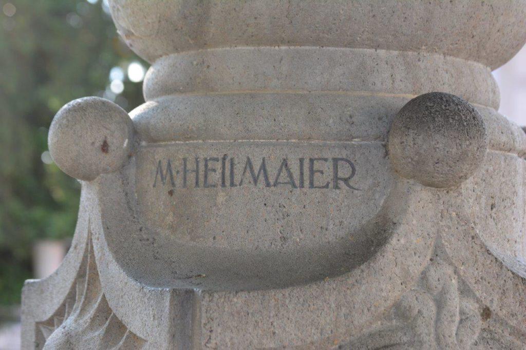 Heilmaier Marktbrunnen Kriegerdenkmal