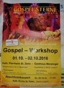 Gospelsterne 2016 Isen und Lengdorf