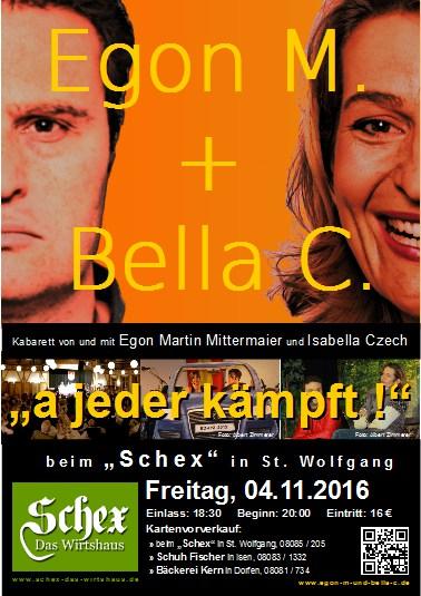 Egon M und Bella C Kabarett