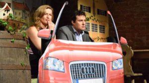 Martin Mittermaier und Isabella Czech Foto: Albert Zimmerer