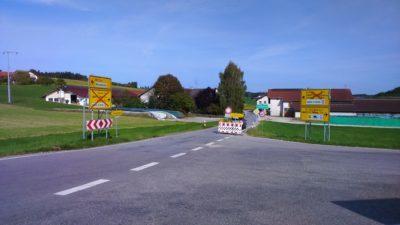ST 2086 Isen-Dorfen bis 22. Oktober 2016 gesperrt