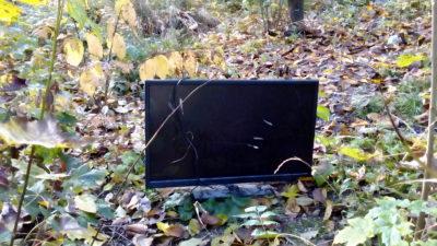 Nicht wild entsorgen! Deponie nimmt TV-Geräte kostenlos