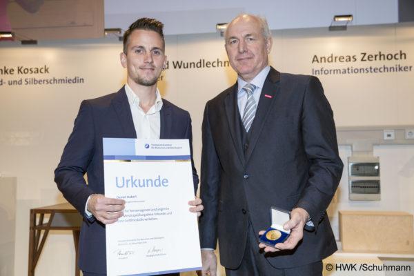 Isener Daniel Haberl gehört zu den 38 Jahresbestmeistern