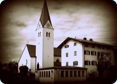 Kryptaandacht in St. Zeno Isen