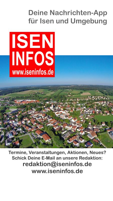 Titelbild der Nachrichten App von Isen Infos - kostenlos erhältlich in den App-Stores