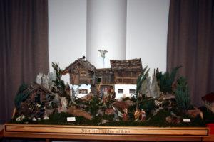 Krippe aus der Krippenausstellung in St. Zeno in Isen