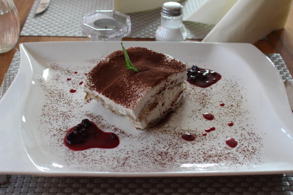 Original italienisches Rezept für Tiramisu im Restaurant La Locanda in Isen