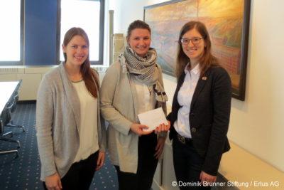 Isener Franz Banke GmbH spendet 400 Euro an die Dominik-Brunner-Stiftung