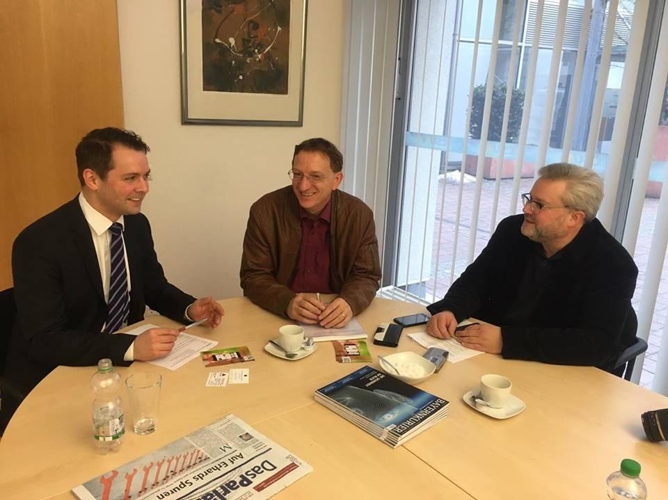 Im Gespräch: Dr. Andreas Lenz, Bundestagsabgeordneter der CSU
