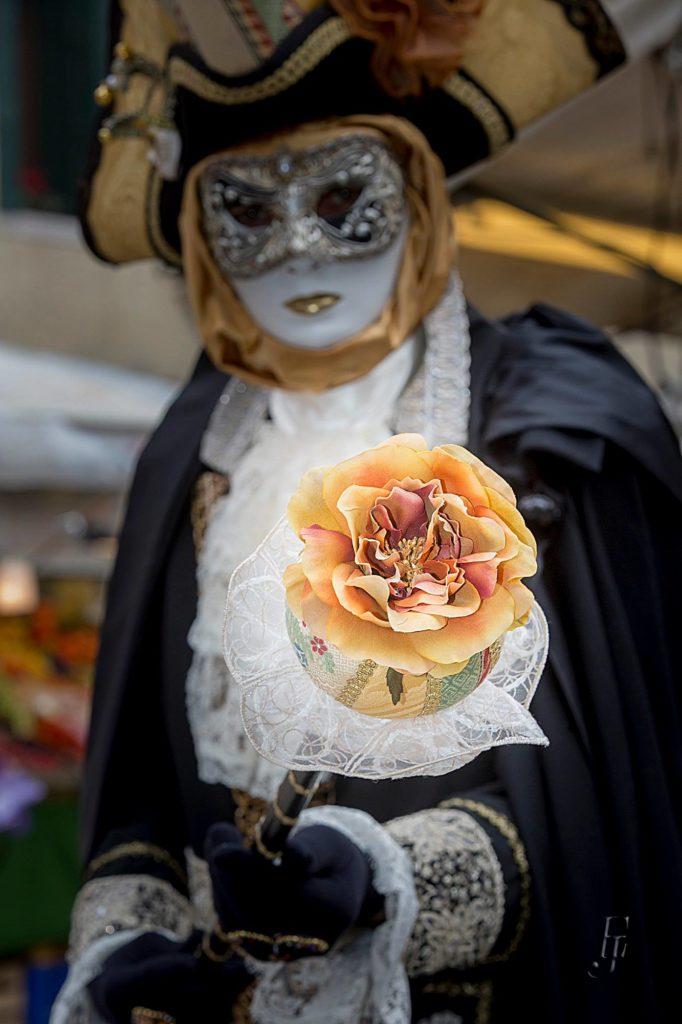 Karnveval in Venedig Fotograf Bertl Jost Isen