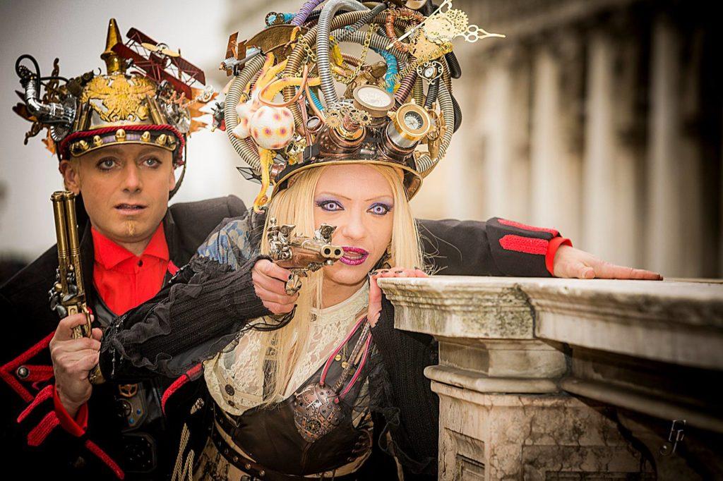 Karnveval in Venedig Fotograf-Bertl-Jost Isen