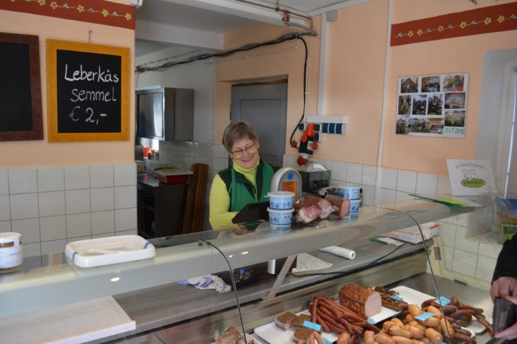 Bauernmarkt Wurst- und Fleisch aus der Region