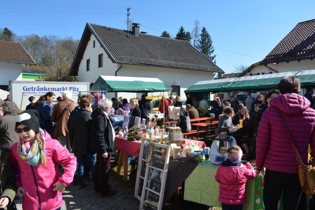 Frühlingsfest in Isen mit vielen Besuchern