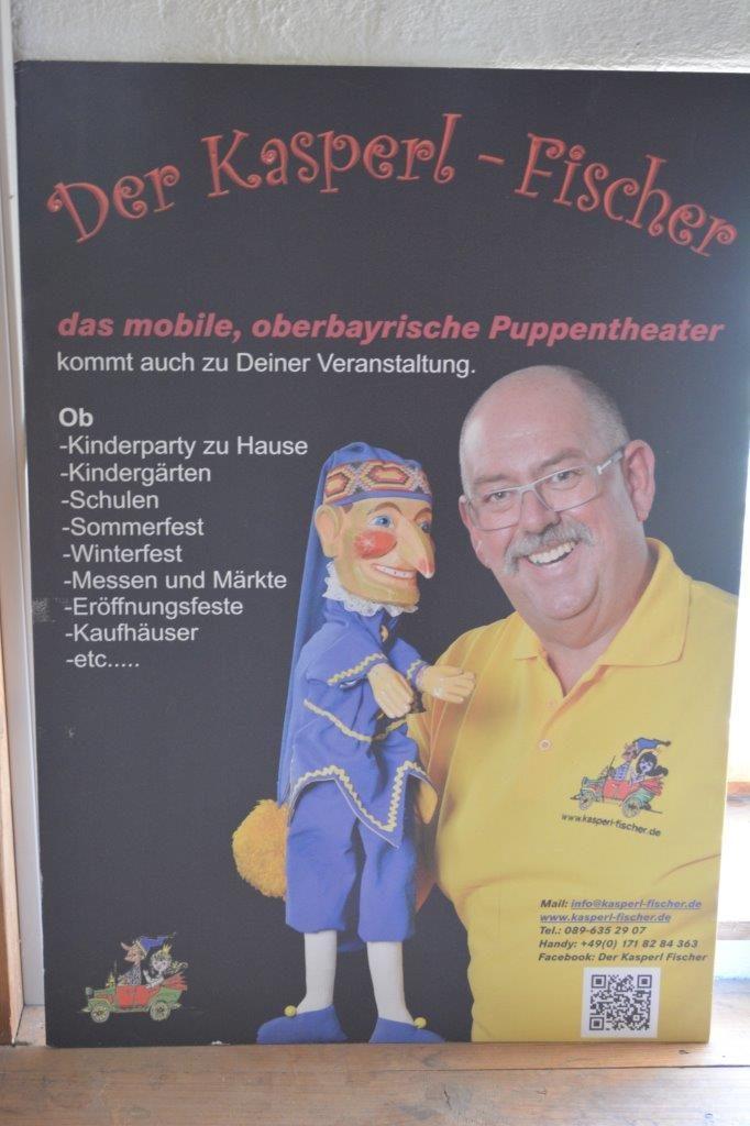 Das mobile Kasperltheater Fischer aus München