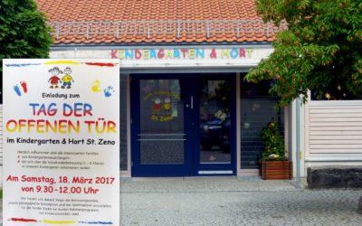 """Isen: Tag der offenen Tür im Kindergarten & Hort """"St.Zeno"""""""