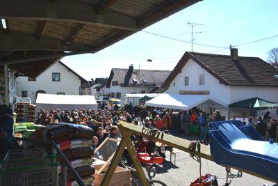 Frühlingsfest-Isen Bauernmarkt, Brechter, RWG, Spielberger