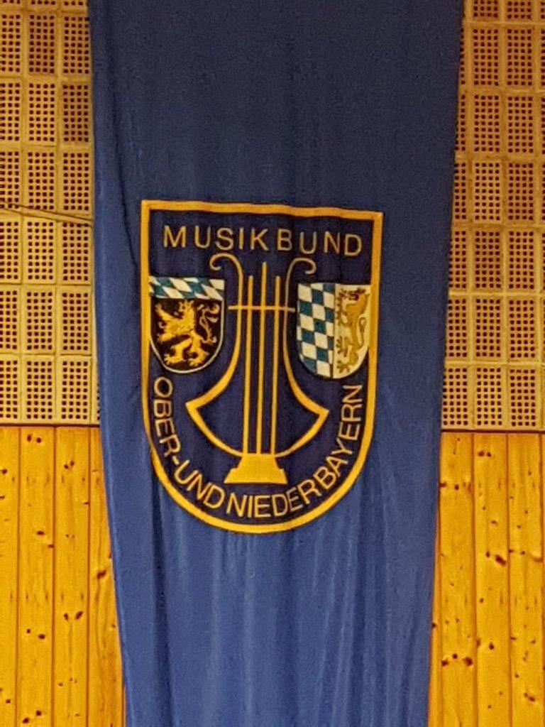 Der Vorsitzende des Musikbundes Ober- und Niederbayern war auch als Gast anwesend