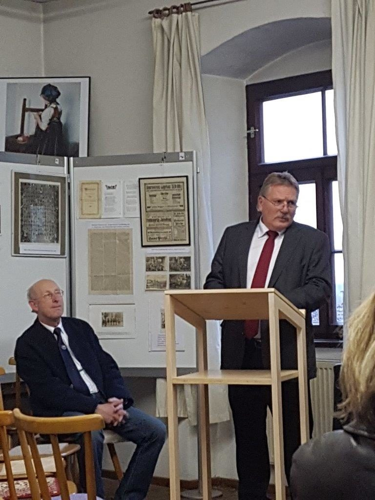 Schirmherr 1. Bürgermeister Siegfried Fischer