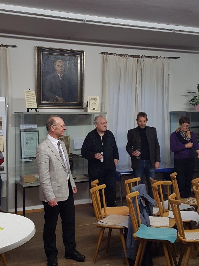 Auch Pfarrer Josef Kriechbaumer kam nur Eröffnung