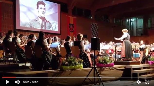 Kaiserliches Frühjahrskonzert der Blaskapelle Isen
