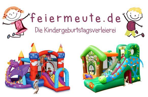Hüpfburg-Aktion zu Ostern von der Isener Firme www.Feiermeute.de aus Gmain