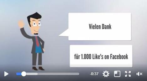 1000 Likes auf Facebook Seite von Isen Infos. Das Team von Isen Infos sagt Danke