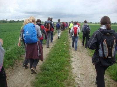Fußwallfahrt nach Altötting am Samstag
