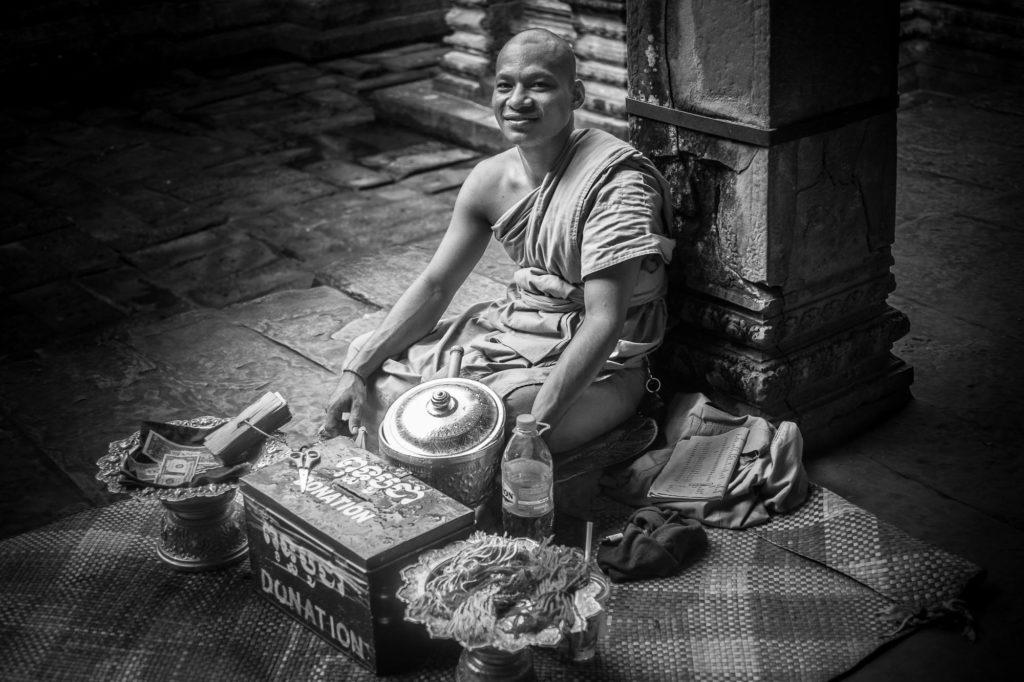 Bertl-Jost-Kambodscha-Vietnam-Fotos-Mönch