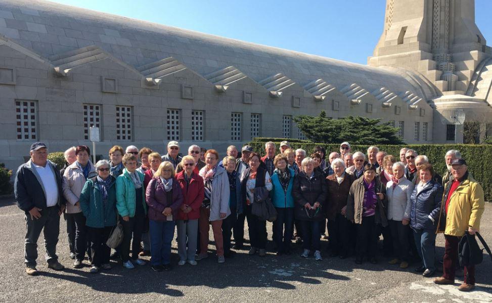 Veteranen aus Isen machen Ausflug nach Frankreich, Luxembourg und Saarland
