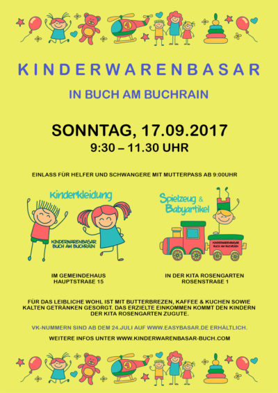 Kinderwarenbasar in Buch am Buchrain
