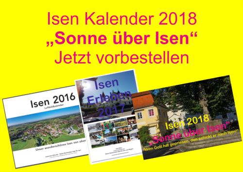 Isen Kalender-Info-2018