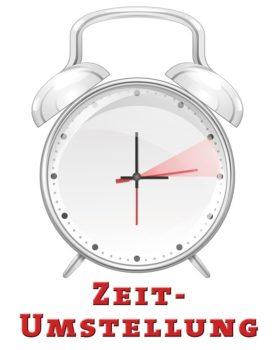 Nicht vergessen – Uhren am Sonntag zurückstellen