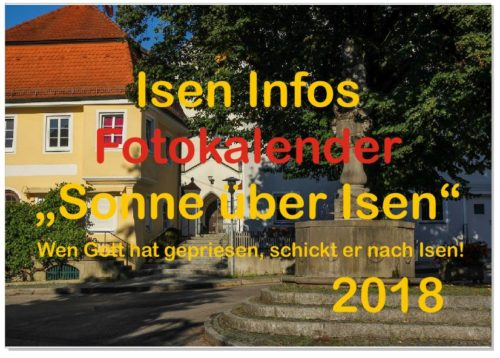Foto-Wettbewerb Isen Kalender 2019