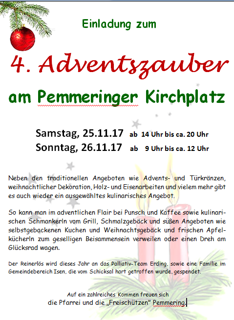 4. Adventszauber in Pemmering