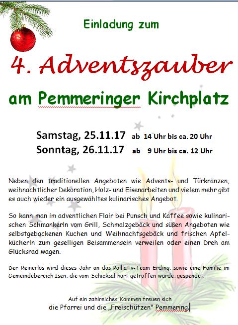 4. Adventszauber in Pfarrei Pemmering