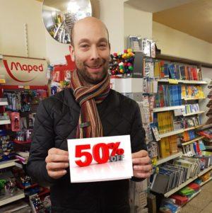 50% Rabatt auf letzte Artikel bei Volker Neef
