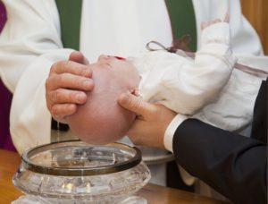 Taufe Isen St.  Zeno