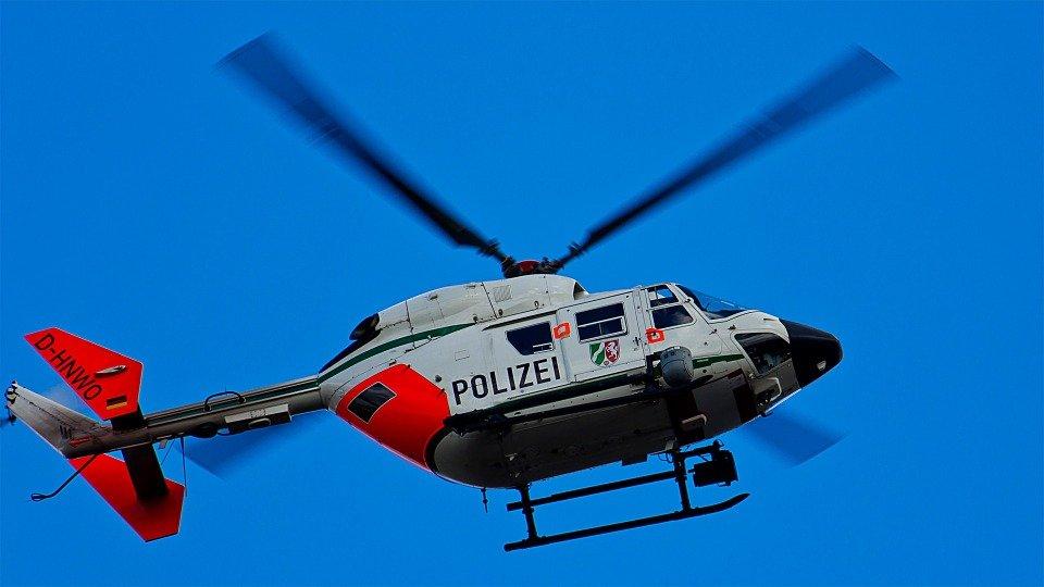 Polizei-Hubschrauber
