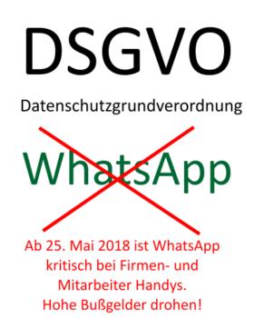 Mitarbeiter und Unternehmen aufgepasst. WhatsApp auf Firmenhandy nicht mehr erlaubt