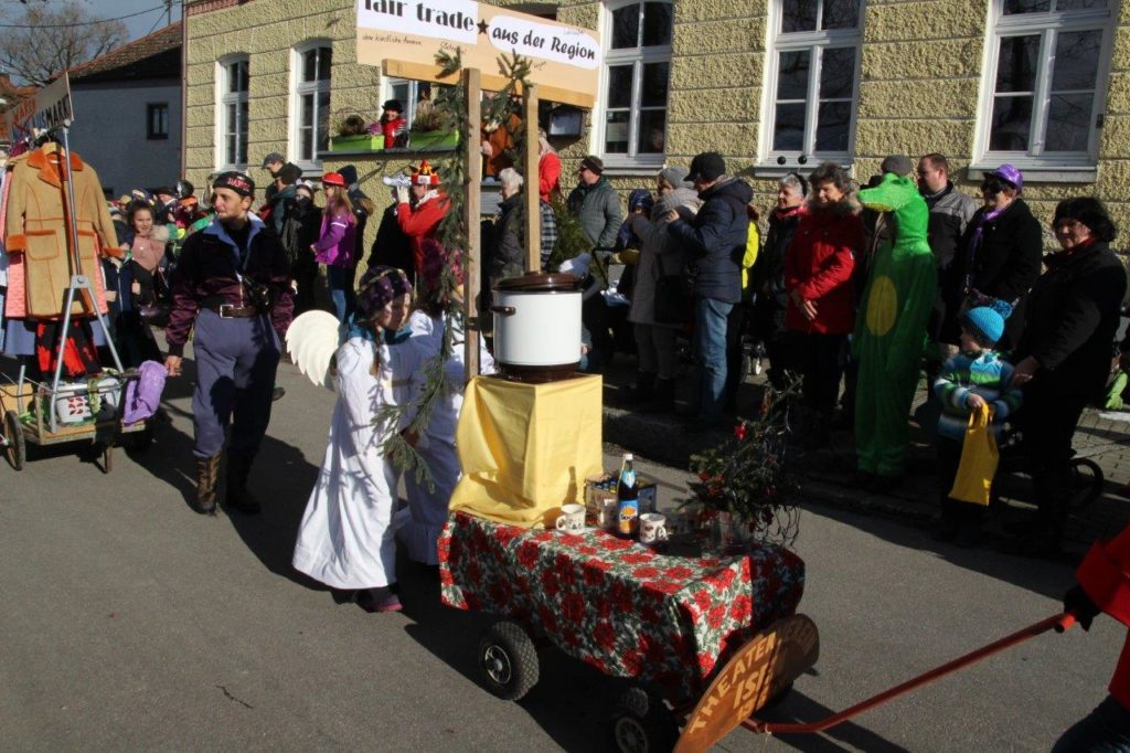 Faschingszug Isen 2018 - Fairtrade