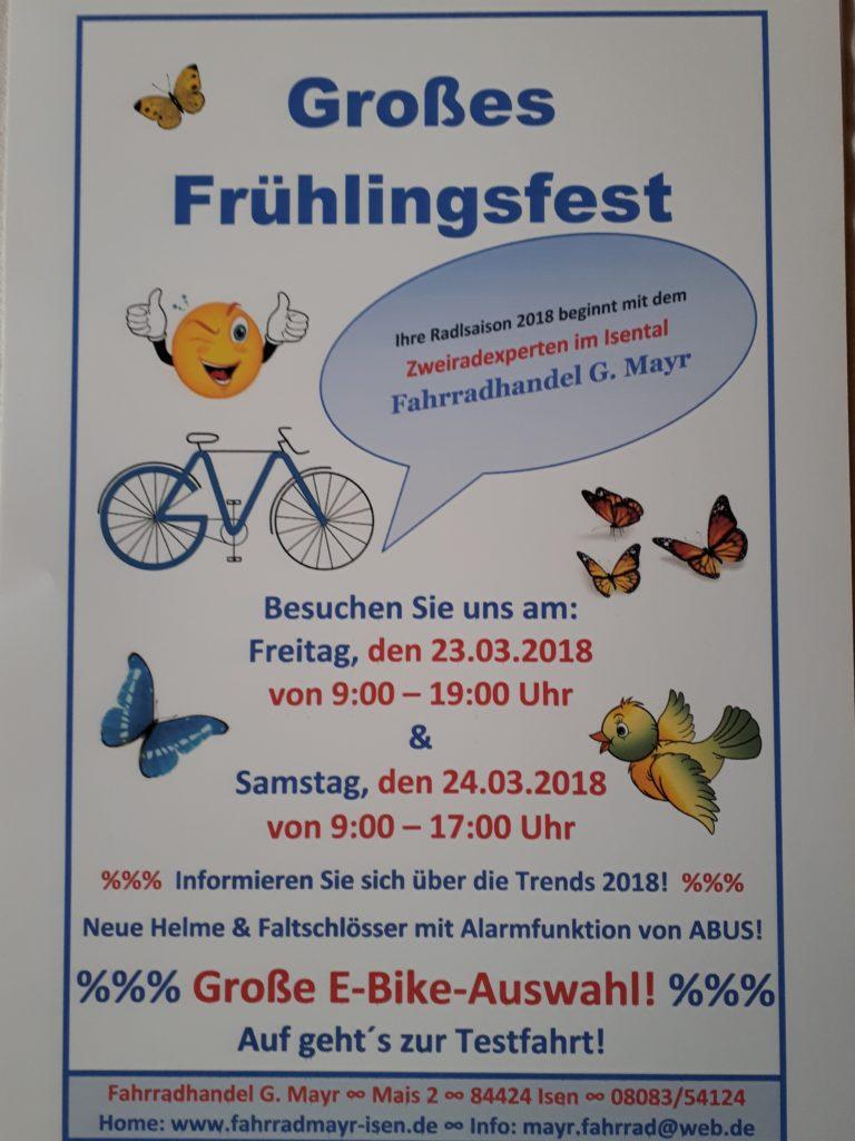 Frühlingsfest-Fahrrad-Mayr