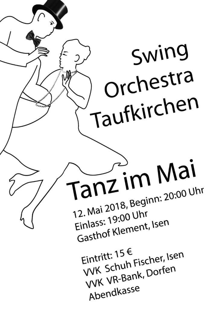 Tanz im Mai mit Swing Orchestra Taufkirchen in Isen Klement Saal